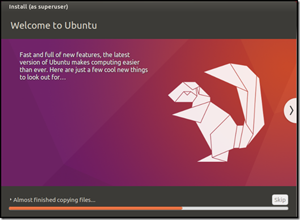 Ubuntu setup and Install - Welcome to Ubuntu