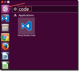 Run Visual Studio Code (VSCode) in Ubuntu using Dash